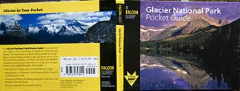 Glacier Pocket guide book