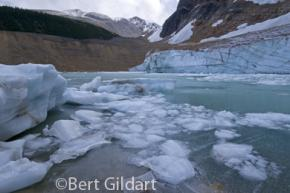 Moraines and melt water