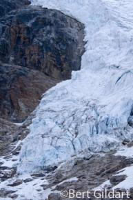 Toe of Angel Glacier